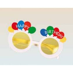 Lunettes Happy Birthday ballons