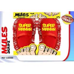 Mules serpillaires Super Maman