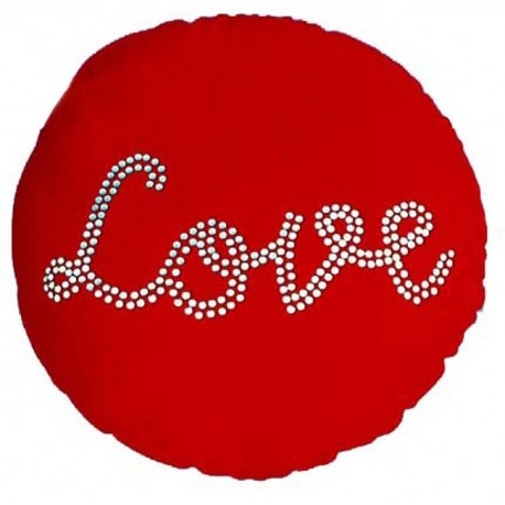 Coussin Love Strass