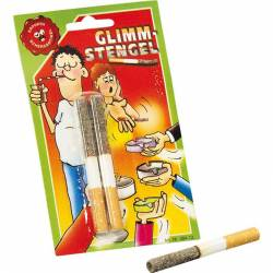 Lot de 2 mégots de cigarettes longues cendres