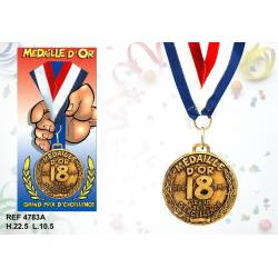 Medaille 18 ans