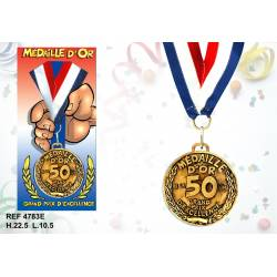 Medaille la 50 aine