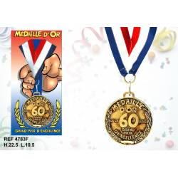 Medaille la 60 aine