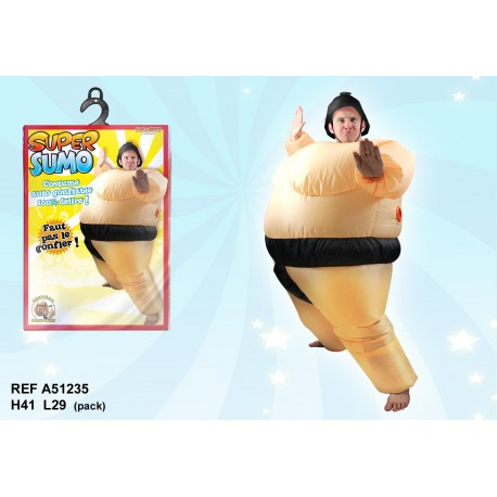 Costume gonflable Super Sumo