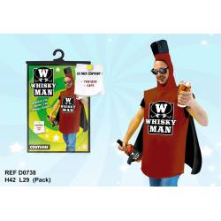 Costume Whisky Man