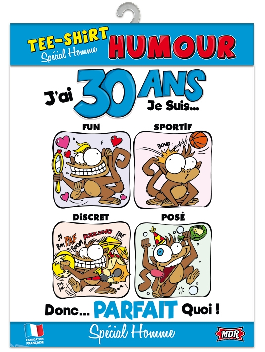 Tee Shirt Humour 30 Ans Homme
