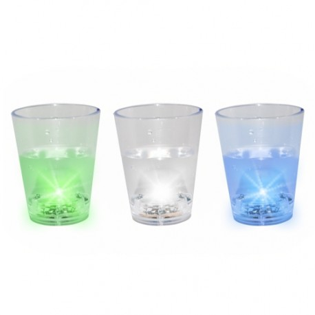 Verres shooter LED
