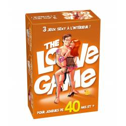 The Love Game 40 ans - 3 jeux sexy