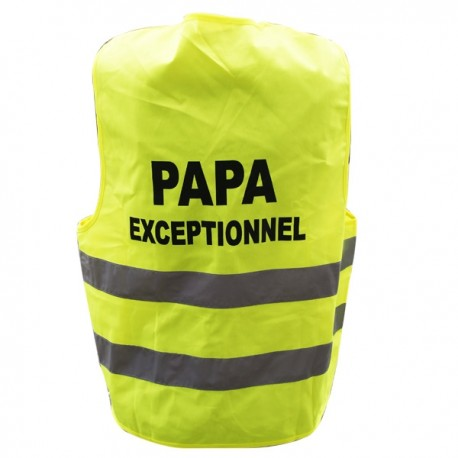 Gilet fluo Papa Exceptionnel