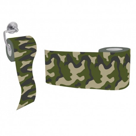 rouleau papier wc camouflage militaire. Black Bedroom Furniture Sets. Home Design Ideas