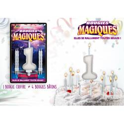 Bougies magiques 1 an