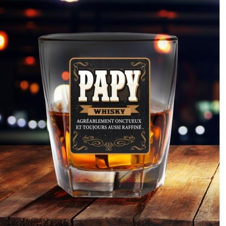 Verre à whisky Papy