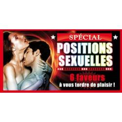 Chequier coquin coupon spécial positions sexuelles