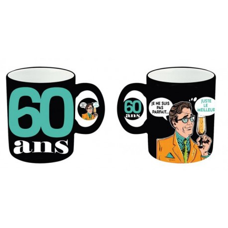 mug rigolo 60 ans homme un cadeau humoristique d 39 anniversaire. Black Bedroom Furniture Sets. Home Design Ideas
