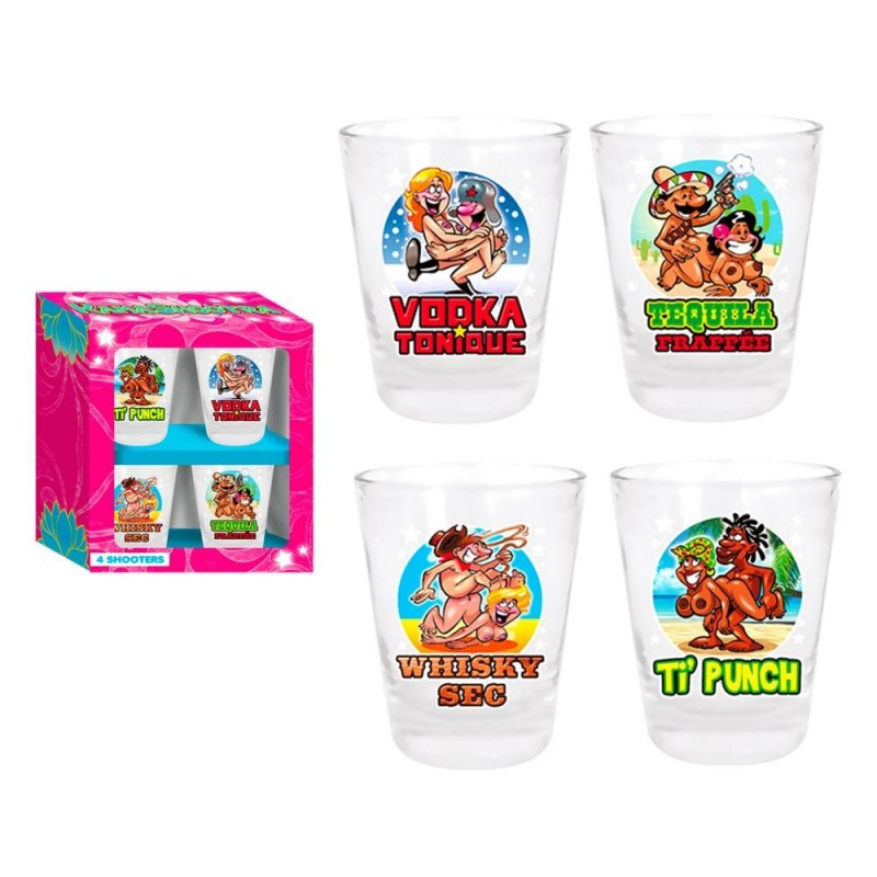 Pack 5 shooters kamasutra for Pack coquin