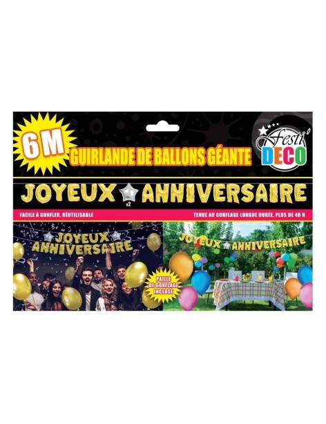 Guirlande Ballons Anniversaire