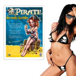 Tenue pirate sexy pour femmes