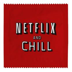Préservatif Netflix and chill