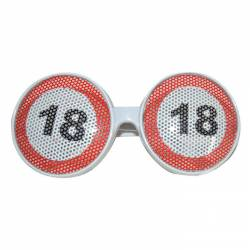 Lunettes gag grille 18 ans