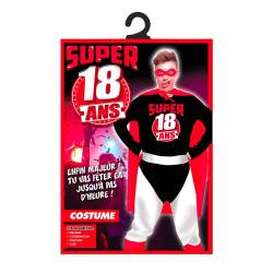 Costume super 18 ans homme