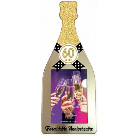 Cadre champagne 60 ans