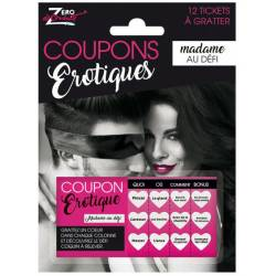 Coupons sexy Madame au défi