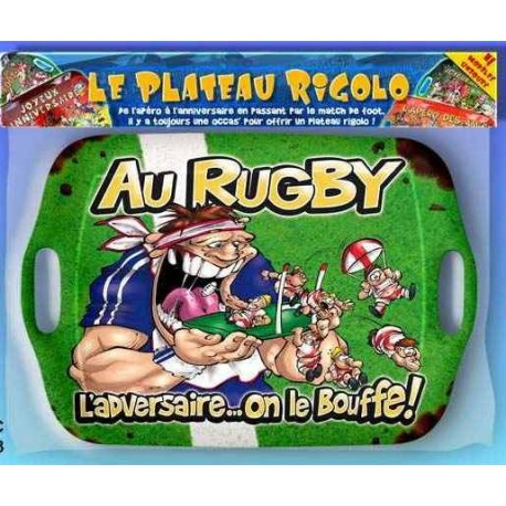 Plateau humoristique rugby