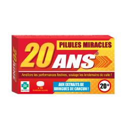 Pilules miracles 20 ans
