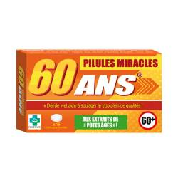 Pilules miracles 60 ans